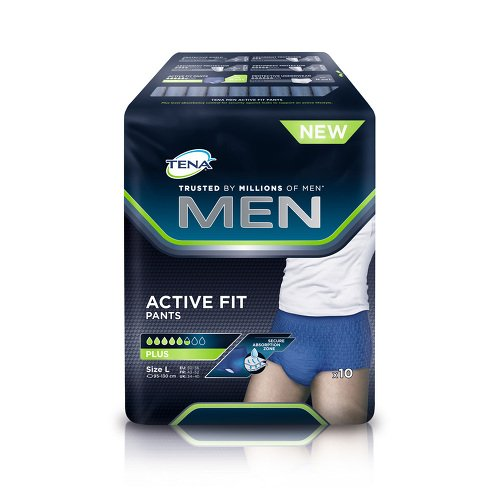 TENA MEN Active Fit Pants Plus L 10 St