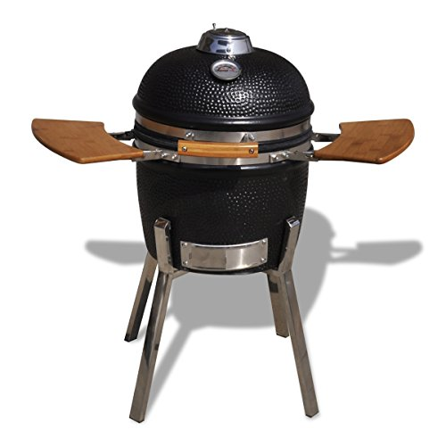 Kamado Barbecue Grill Smoker Ceramic 81 cm