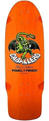 Powell Peralta Bones Brigade Caballero Tablett Skateboard-Orange 10
