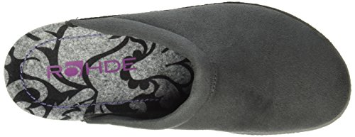 Pantofole Da Donna Rohde Emden Grigie (antracite 82)