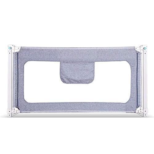 YaZhou Bettgitter Safety Gate Products Kinderbetreuung Barriere für Betten Kinderbett Gitter Sicherheit Fechten Kinder Leitplanke Kids Toddler Bed Guard mit Zwei-Tasten-Verstärkung (Size : 200cm) -