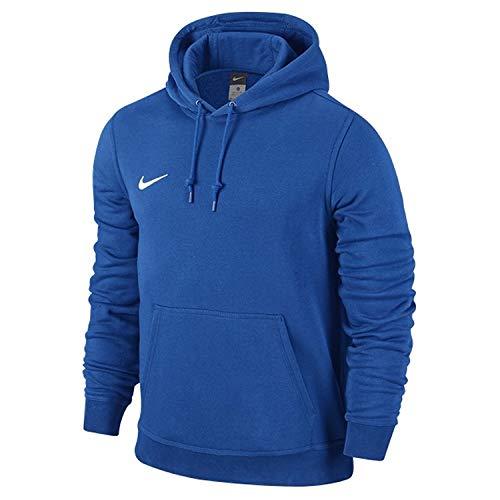 Nike Jungen Unisex Kapuzenpullover Team Club, Schwarz (Black/football White), S