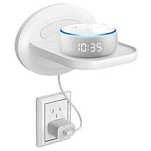 Bovon Kleines Wandregal, Wandhalterung für Dot 3, Sonos, Google WiFi, Smart Heim Lautsprecher & Smartphones, Clever…