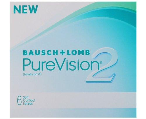 Bausch & Lomb PureVision 2 HD, 1 x 6 Stück, Dioptrien: -1,75