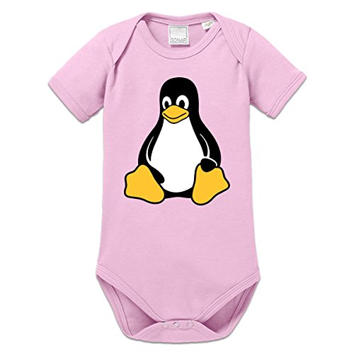 Linux Pinguin Baby Strampler by Shirtcity