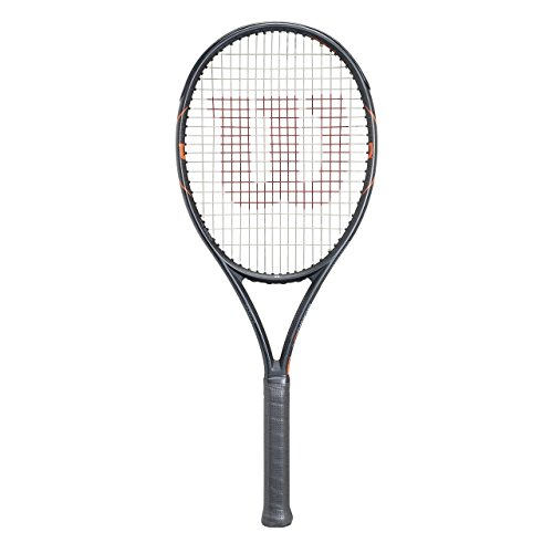 WILSON 'Raquette de Tennis Burn FST 99Cordée, Noir, 1