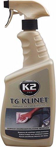 K2 T6 Klinet, Lack Reinigen & Entfetten, Autolackreiniger, Lackreiniger, Lack Reinigung, Silikonentferner, Autowachsentferner 770ml