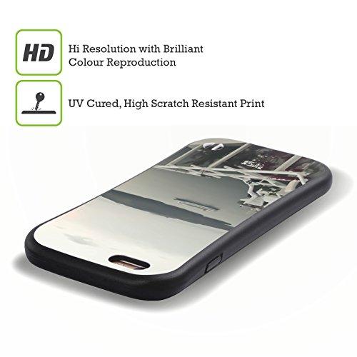 Ufficiale Haroulita Romantico Santorini Bianco E Nera Case Ibrida per Apple iPhone 7 / iPhone 8 Giardino