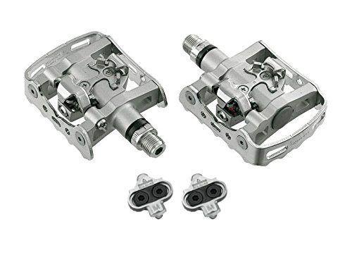 Shimano SPD Pedal PD-M324 Set mit Cleatset PD-M 324 Klickpedal Wendepedal (Shimano Pedalachse)