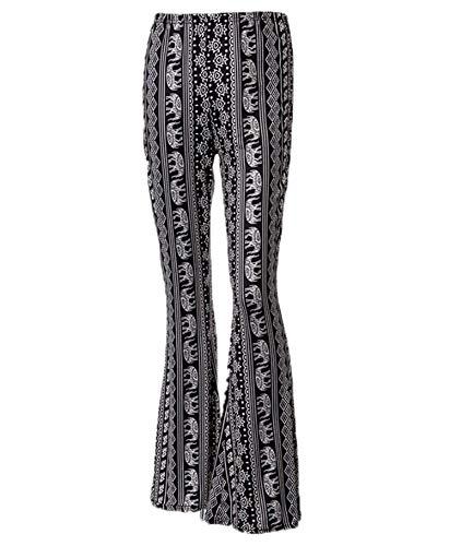 Huateng Flare Bell-Bottom-Hose Für Frauen Mit Hoher Taille