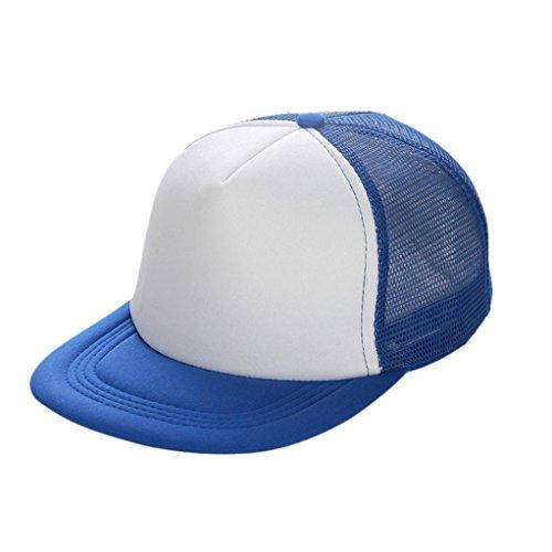 Baseball Cap Hat Blanko Visier Hat Verstellbar ()