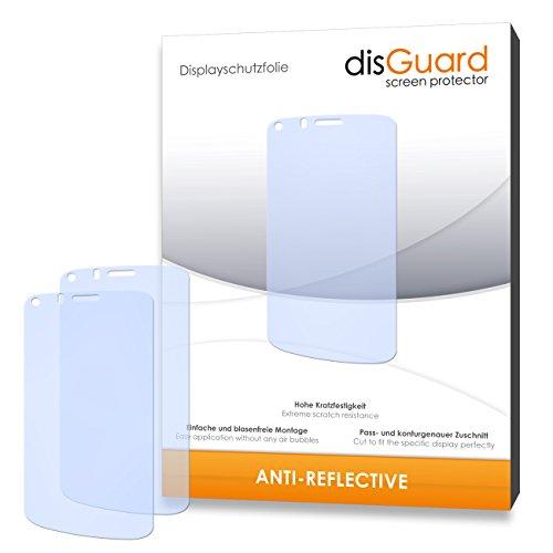 disGuard® Displayschutzfolie [Anti-Reflex] kompatibel mit Gionee Pioneer P3 [4 Stück] Entspiegelnd, Matt, Antireflektierend, Extrem Kratzfest, Anti-Fingerabdruck - Panzerglas Folie, Schutzfolie