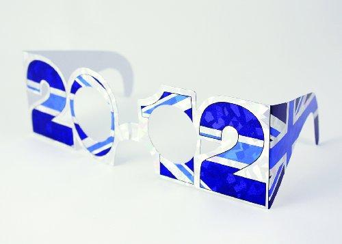 Amscan PPP Fanartikel GB-Brille 2012