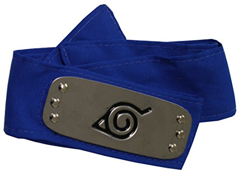 Pidak Banda Ninja Cosplay Placas Metal Color Azul