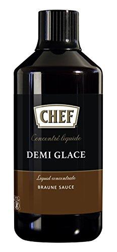 CHEF Flüssiges Konzentrat Demi Glace Braune Sauce, 1er Pack (1 x 1L)