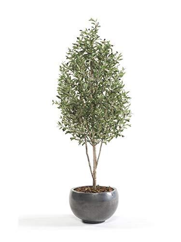 Red Hot Plants Künstlicher Olivenbaum, 1,7 m hoch