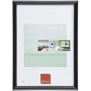 Brio 851000 Cornice per foto, dimensioni: 10 x 15 cm, Plastica, Nero, 10 x 15 cm