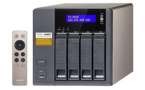 QNAP TS-453A-8G 32TB (4 x 8TB WD RED) 4 Bay Desktop NAS Einheit mit 8GB RAM