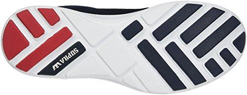 Supra Hammer Run, Sneaker Uomo Blau (Navy-White)
