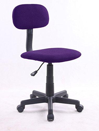 Eurosilla Bart - Silla de escritorio, 79 x 41 x 74 cm, color morado
