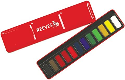 Reeves 12 Watercolour Tablets in a