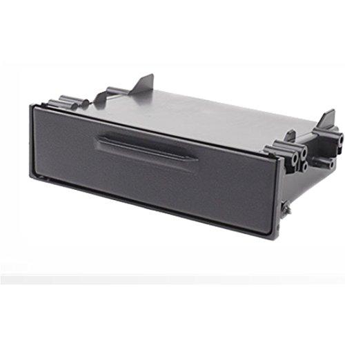 carav 11-155 Ablagefach für Autoradio Radioblende DVD Dash Installation Kit Universal mit Deckel Faszie mit 180 * 50 * 98 mm