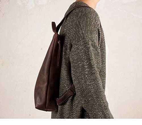 Mochila cuero marrón, mochila segura marrón, mochila mujer ciudad, mochilas viajes, mochila mujer piel, mochilas…