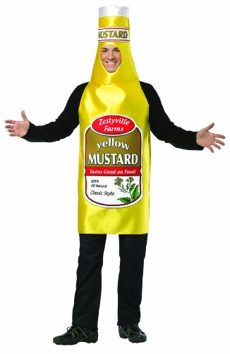 Rasta Imposta 339 Gelbes Kostüm Zestyville Mustard (Einheitsgröße)