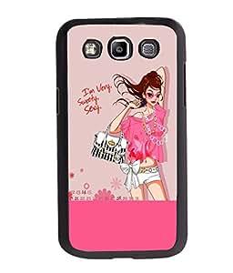 Fuson Sweet Girl Back Case Cover for SAMSUNG GALAXY E7 - D3760