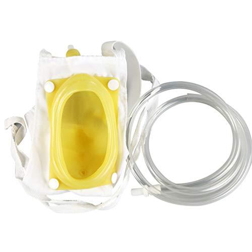 HEALLILY weibliche Urinbeutel Urinabscheider antiallergisch medizinisch flüssig Urinbeutel tragbares Urinalsystem für Damen