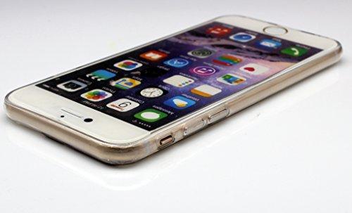 iPhone 6 Plus / 6S Plus Custodia , Keyihan Interessante Divertente Modello Leggero Sottile Morbido Trasparente Chiaro TPU Silicone Protettiva Caso per Apple iPhone 6S Plus (Giocare a Pallacanestro Lay Sexy Bikini