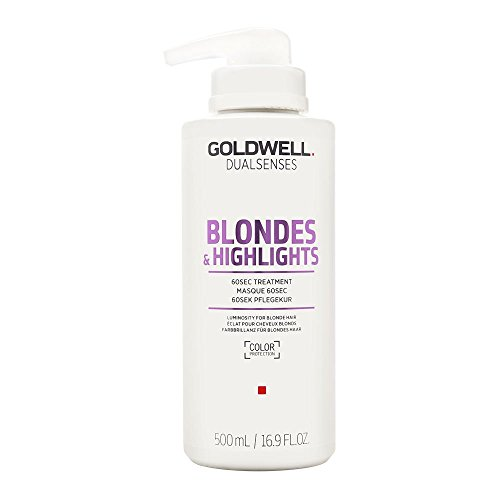 Goldwell Dualsenses Blondes & Highlights 60 seconds Treatment Pflegekur, 1er Pack (1 x 500 ml)