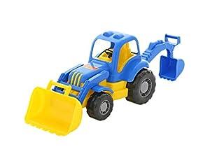 Polesie Polesie45065 Mighty Tractor-Excavator - Peluche