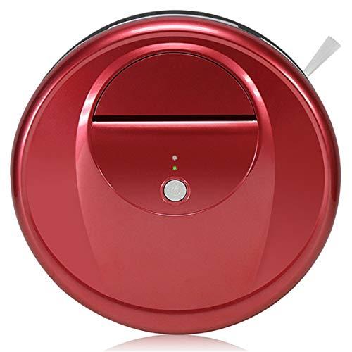 RongDuosi Kehrmaschine, Haus, automatische intelligente ultradünne Vakuum-Kehrmaschine Besen fegen drinnen (Color : Red)