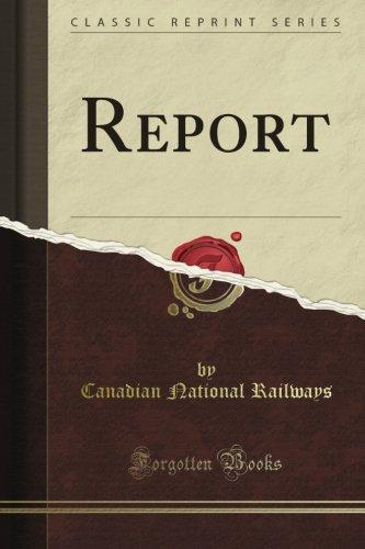 report-classic-reprint