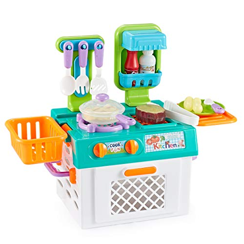 Think Gizmos Pretend Play Sets For Kids - Fun Play Sets For Boys & Girl (Kitchen Set)