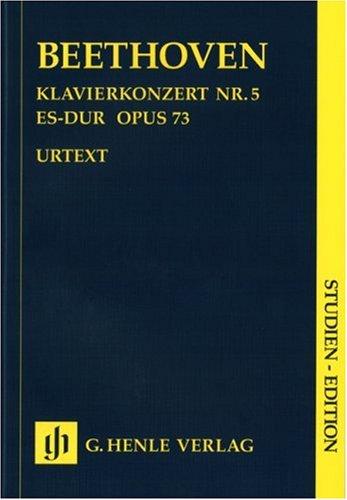 Concerto pour Piano N  5 en Mi Bemol Majeur Op. 73