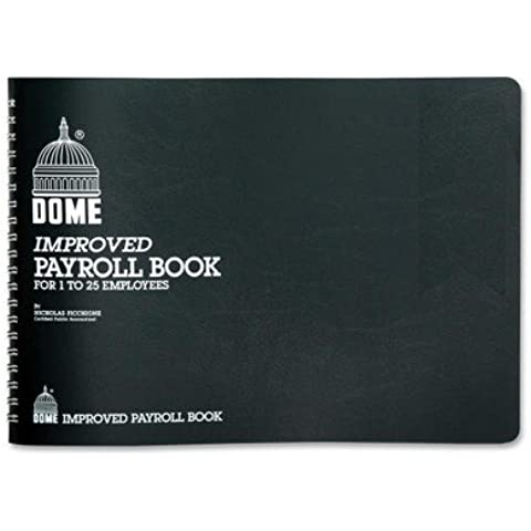 Dome - Payroll Books, 1-15 Employees, 10