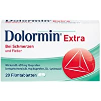 Dolormin extra Spar-Set 3x20 Filmtabletten. Einzunehmen bei leichten bis mäßig starken Schmerzen wie z.B. Kopfschmerzen... preisvergleich bei billige-tabletten.eu