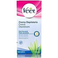 Veet Crema Depilatoria Ascelle e Zona Bikini Pelli Sensibili, 100 ml