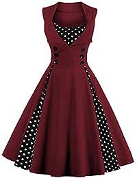 Kleid mit spitze am dekollete