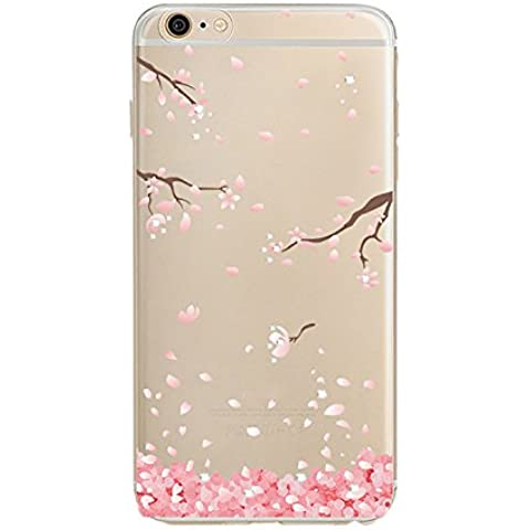 COOSA funda carcasa case Caso claro suave del teléfono celular de la contraportada para iPhone6 / 6s / 6 plus / 6s plus (1, iPhone 6 /