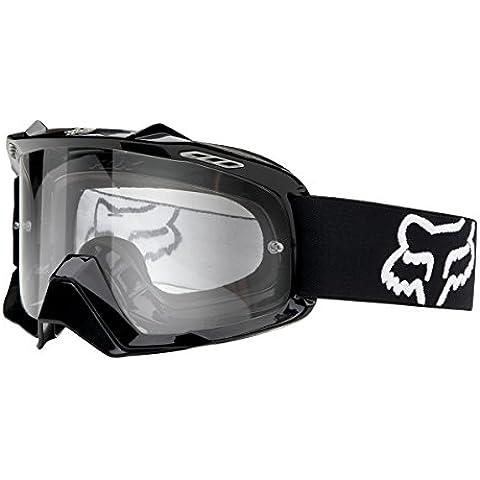 Gafas máscara FOX AIRSPC Negro pulido Lente transparente 2014