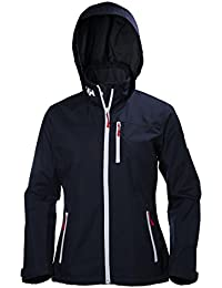 Helly Hansen 33891 Chaqueta Impermeable, Mujer, Azul (Navy), XS