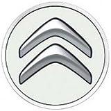 Citroen - Kit De 4 Cabochons Pour Roues Aluminium Blanc Banquise