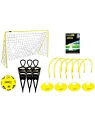 Kickmaster Ultimate Football Challenge Gift Set with Games Manual