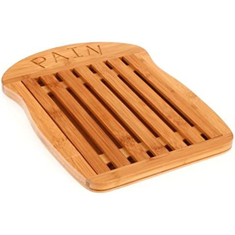 B&W Cuisine - Tabla para cortar pan (bambú)