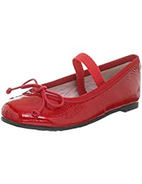 Edelste spanische Pretty Ballerinas Leder Lackleder rot red