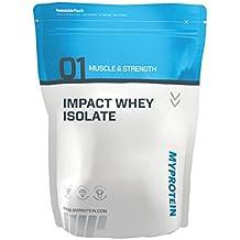 MyProtein Impact Whey Isolate Proteína de Suero, Sabor Chocolate Blanco - 1000 gr
