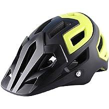 Ali mate Multi deporte casco niños casco de bicicleta para impacto resistencia seguro de protección casco protector de cabeza para escalada Ciclismo Drift esquí equitación bicicleta, Green&Black